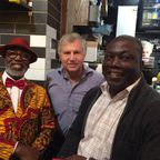 Fig 1: Left to right: Dr Francis, Prof Robert Schweitzer, and Dr Francis Acquah, who will be providing input into project.