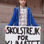 Greta Thunberg in Stockholm (2018)