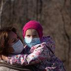 Coronavirus, baby and mom