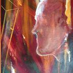 Mind, original oil, 1965, Frank John Ninivaggi