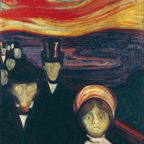Anxiety–Edvard Munch (1863–1944)