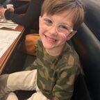 The author's grandson, Ezzie