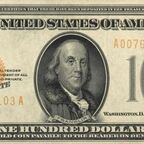 One Hundred Gold Certificate Bank Notes