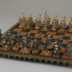 Chessmen 32 and Board
