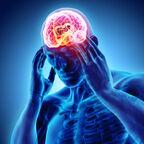 Man with Viscious Migraine