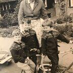 Sylvia True and family