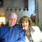 The author and her husband Paul