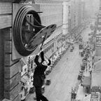 Harold Lloyd and Wesley Stout, An American Comedy / Public Domain / Wikimedia Commons