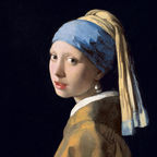 Johannes Vermeer, Girl with a Pearl Earring / Public Domain / Wikimedia Commons