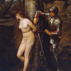 John Everett Millais' The Knight Errant of 1870, Wikimedia