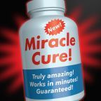 "FDA graphic by Michael J. Ermarth - ""Miracle Cure!"" Health Fraud Scams"