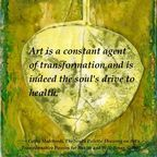 "© 2012 Cathy Malchiodi, PhD ""Art is a Wellness Practice."""