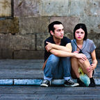 Unhappy couple, Flickr, Creative Commons 2.0