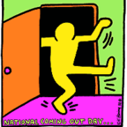 Keith Haring/Human Rights Campaign, low resolution fair usage