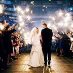 Grand Wedding Exit - wikicommons