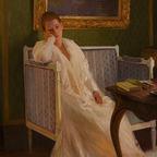 Boredom by Gaston de La Touche, 1893, wikimedia commons