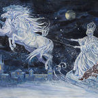 "Wikipedia Commons/Public Domain, ""The Snow Queen"" by Elena Ringo (Creative Commons Attribution)"