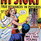 Cover scan of a public domain comic book. {{PD-US-no-renewal}} {{Self|GFDL|cc-by-sa-3.0,2.5,2.0,1.0}} Category:Romance comics Category:Comic book covers Category:Golden Age of Comic Books {{ImageUpload|basic}}