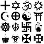 """Religijnesymbole""/Ratomir Wilkowski/ CC 3.0 via Wikimedia Commons"