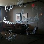 "Cory Doctorow. Flickr Creative Commons. ""Redonkulus"" Inspiration Room, Hotel Zaza, Houston, TX."