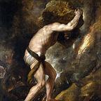 Sisyphys (1548–49) by Titian, Prado Museum, Madrid, Spain/Wikimedia commons - public domain