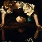 Wikipedia Narcissus by Caravaggio