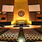 By Patrick Gruban, cropped and downsampled by Pine - originally posted to Flickr as UN General Assembly, CC BY-SA 2.0