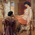 By John William Godward - Art Renewal Center Museum, image 11133, Public Domain, https://commons.wikimedia.org/w/index.php?curid=1892795