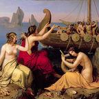 """""""Odysseus und die Sirenen"""" by Alexander Bruckmann / Wikimedia /  Public Domain"""