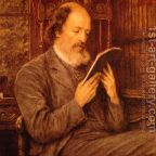 Alfred, Lord Tennyson painted by Hellen Allingham (1848-1926), Public Domain, Wikimedia Commons.org