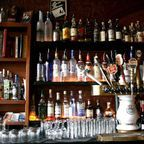 Behind the bar by Eric Wittman Flickr Licensed Under CC BY 2.0