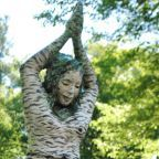 Wiawaka 'Birch Girl Sculpture' by Pam Golden