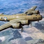 """Color Photographed B-17E in Flight"" by U.S. Air Force photo - http://www.nationalmuseum.af.mil/shared/media/photodb/photos/060515-F-1234S-018.jpg. Licensed under Public Domain via Wikimedia Commons - https://commons.wikimedia.org/wiki/File:Color_Photographed_B-17E_in_Flight.jpg#/media/File:Color_Photographed_B-17E_in_Flight."