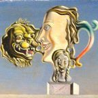 Dali: Illumined Pleasures (detail) via Wikimedia Commons