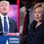 Krassotkin (derivative), Gage Skidmore (Donald Trump), Gage Skidmore (Hillary Clinton) via Wikimedia Commons