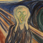 """Edvard Munch - The Scream - Google Art Project"" by Edvard Munch - Google Art Project: pic. Licensed under Public Domain via Commons -"