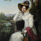 Artist Unknown, Portrait of Ekaterina Demidova (1783-1830), c.1825, Alexander Pushkin's Museum (Prechistenka).   Wikimedia Commons.