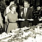Engineering Department Christmas party, 1957 by Seattle Muncipal Archives Flickr Licensed Under CC BY 2.0
