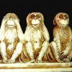 Four Wise Monkeys. Wikimedia Commons.