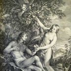 Temptation of Adam and Eve by Phillip Medhurst/Wikimedia Commons