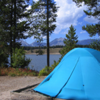Camping at Grand Teton National Park (Credit: National Park Service)