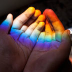 Happiness in your hands by MamiGibbs Flickr Licensed Under CC BY 2.0