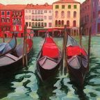 Venice in Technicolor, oil on canvas, by Laurie Helgoe
