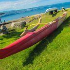 (c) John E Robison  Hawaiian canoe, Hilo