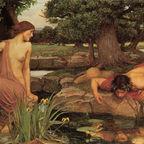 Echo And Narcissus, John William Waterhouse, Public Domain