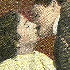 A Man And A Womn Kiss/Wikimedia Commons/Public Domain