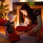 Magical Christmas Gift by MNStudio Licensed from Shutterstock
