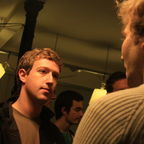 Mark Zuckerberg at the Facebook Developer Garage Paris, 2008, Flickr