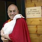 With permission of Matthieu Ricard
