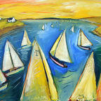 """Squam Sails"" courtesy of Shaun McNiff"